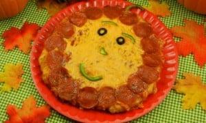 Pizza para Halloween