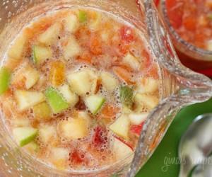 bebida de fruta
