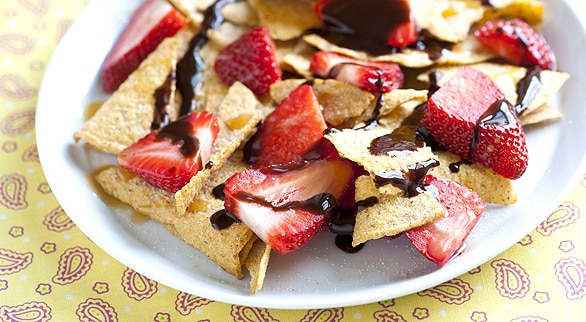 Nachos con chocolate y fresas :: Recetas de Cocina – Ricas ...