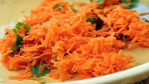 Ensalada light de zanahoria rallada - Ensalada de apio y zanahoria ...