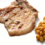 de sand  237 a y pl  225 tano asado de puerco canelones con carne coliflor    Chuletas De Cerdo Al Arriero