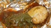 Pollo en mixiote