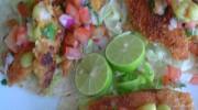 Tacos de pescado empanizado