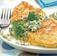 Tortilla al Roquefort