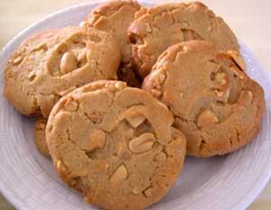 Galletas de mantequilla de cacahuate
