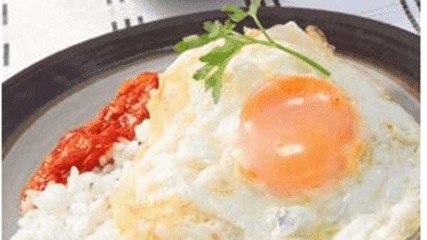 Arroz con Tomate y Huevos