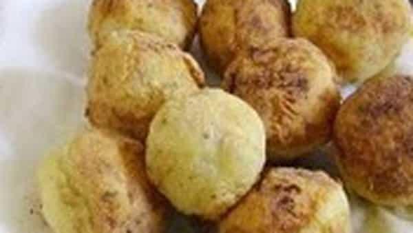 Bolas de Patatas Rellenas