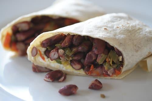 Burrito para desayuno