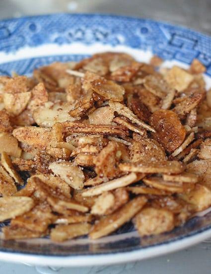 Almendras dulce/saladas con canela