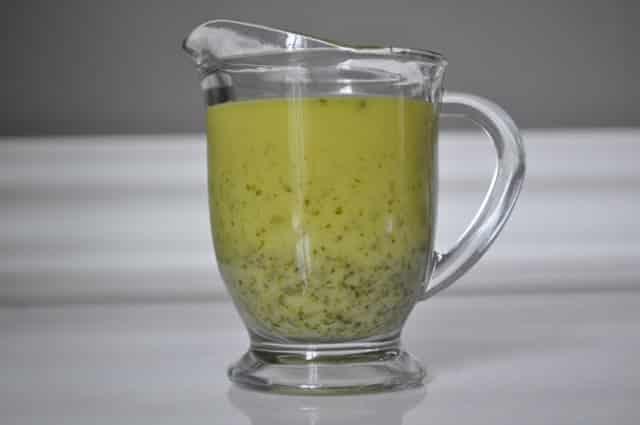 Aderezo de cilantro y lima
