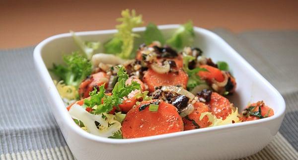 Ensalada de Zanahoria Especiada