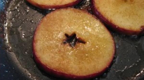 Manzanas con Semillas de Sésamo
