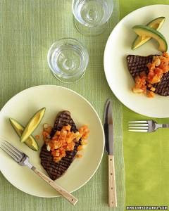 Salsa de papaya y zanahorias