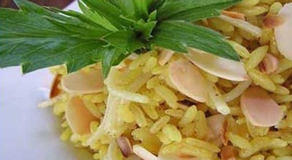 Arroz con Almendras al Curry