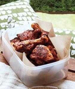 Pollo dulce y picante