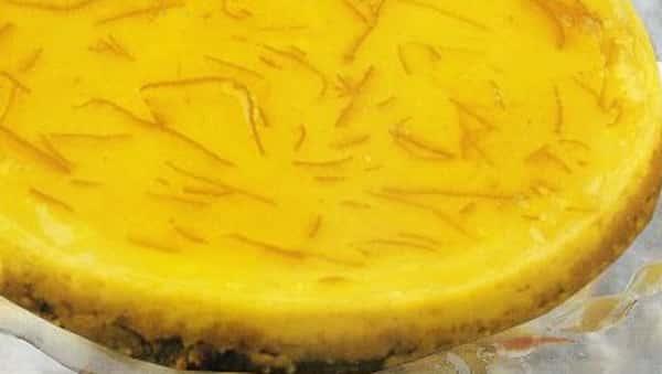 Tarta de Naranja - En el Microondas