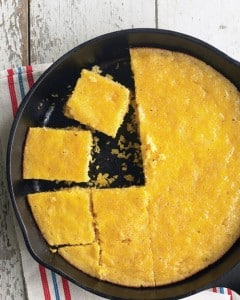 Pan de maíz con miel