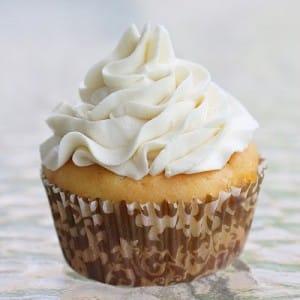 Glaseado para tartas y cupcakes