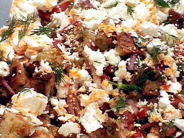 Dakos (Ensalada griega de pan)