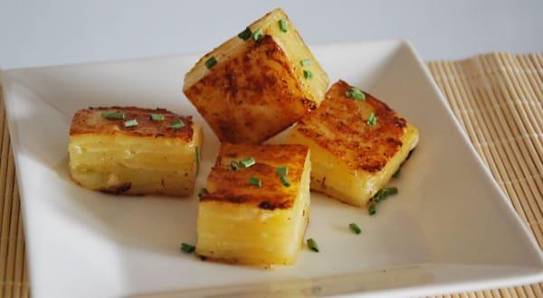 Cubos de Patata