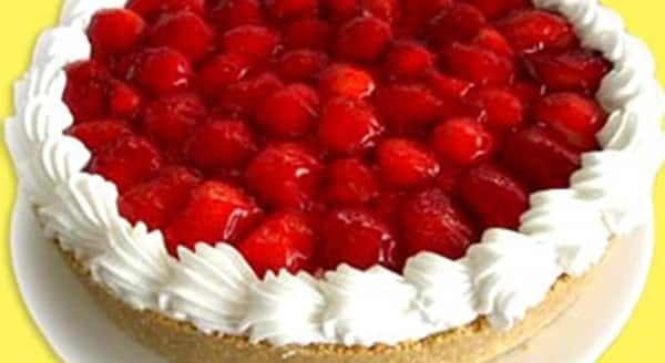 Pastel De Queso Con Fresas Recetas De Cocina Ricas Recetas