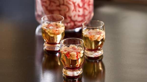 Halloween - Bebida de Cerebro Sangriento