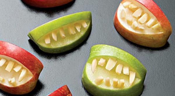 Halloween - Bocas con Manzanas