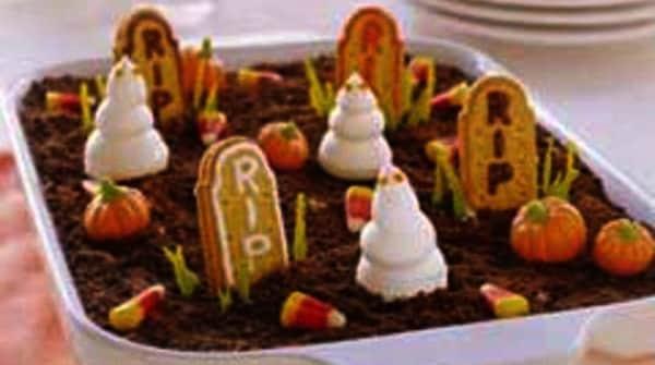 Halloween - Cementerio de Chocolate