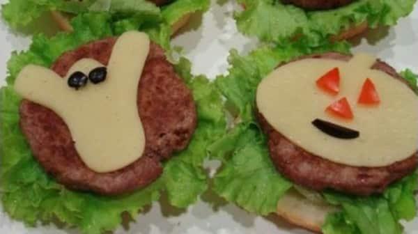 Halloween: Hamburguesas