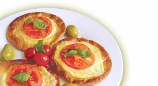Pizzetas de Arroz