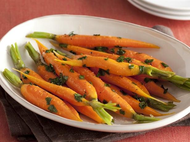 Zanahorias glaseada con miel