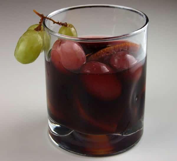 Sangría de uvas