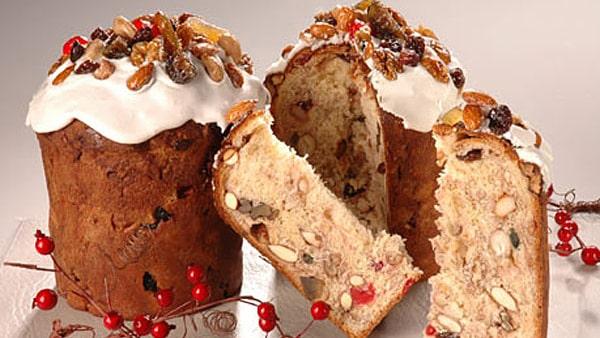 Navidad - Panquesitos con Fruta Tradicional