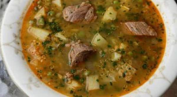 Sopa de Quinua