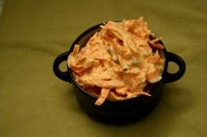Ensalada de zanahoria con un toque de curry