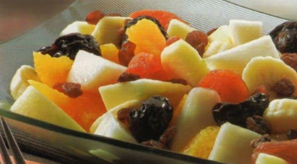 Ensalada con Frutas de Invierno
