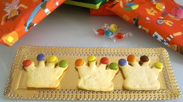 Galletas para Reyes Magos