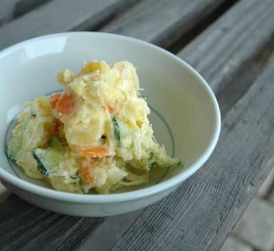 Ensalada de patata, estilo japonés