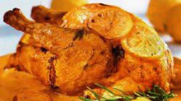 Pollo al Horno con Hortalizas