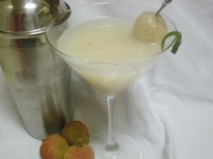 Martini de lichi