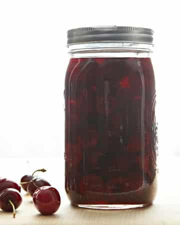 Vinagre de cerezas