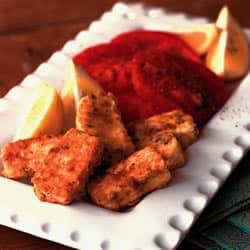 Saganaki - queso griego frito