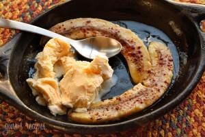 Bananas dulces al horno