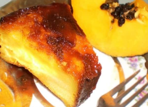 Pudín de Papaya