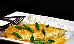 Salsa curry con un toque de miel