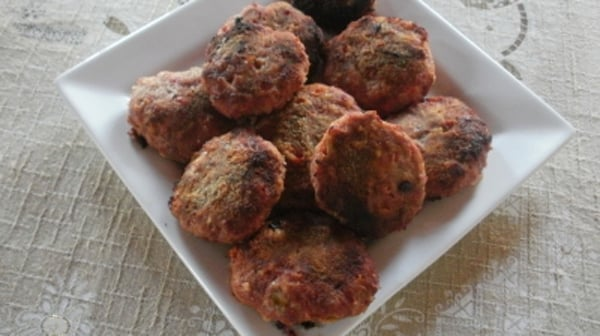 Hamburguesas de Carne con Vegetales