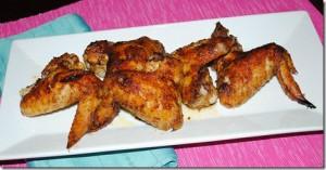 Alitas de pollo caribeño