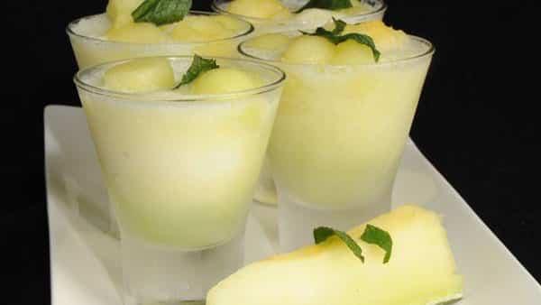Granizado de Melón con Limón