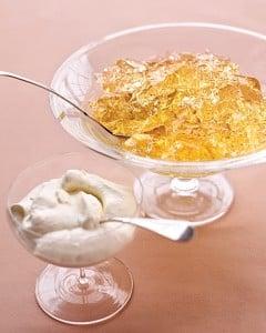Gelatina con sabor a Champán