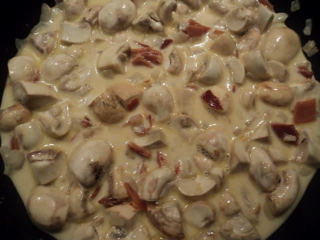 Champiñones En Salsa De Leche Evaporada Recetas De Cocina